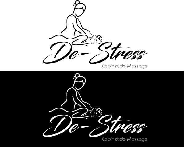 Kilpailutyö #                                        45                                      kilpailussa                                         Logo pour cabinet de massage et soins du corps