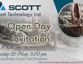 Nro 21 kilpailuun Open Day Invitation käyttäjältä ashvinavp111