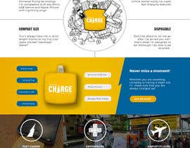 nº 10 pour Product landing page for website par edcrdnl
