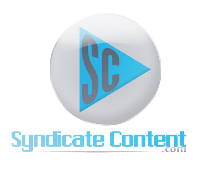 Inscrição nº                                         11                                      do Concurso para                                         Logo Design for Syndicate Content - www.syndicatecontent.com