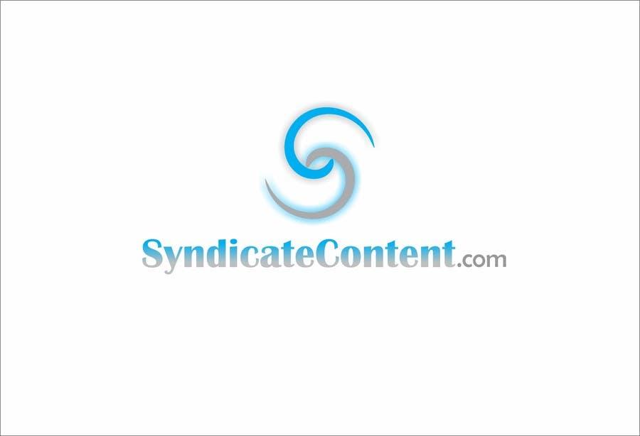 Inscrição nº                                         5                                      do Concurso para                                         Logo Design for Syndicate Content - www.syndicatecontent.com