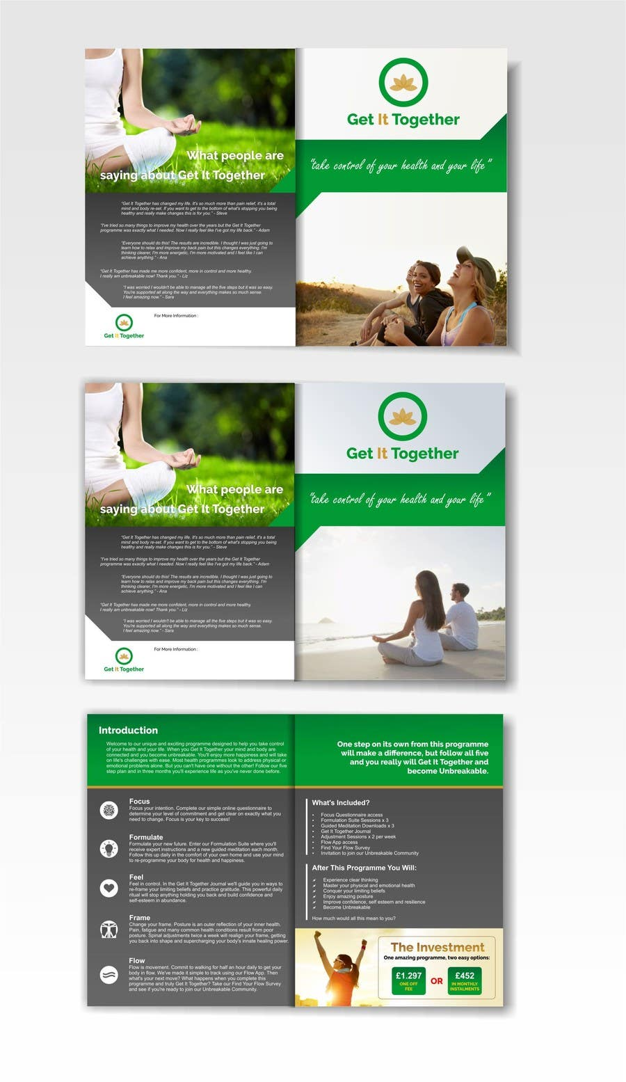 Contest Entry #21 for Design a Brochure