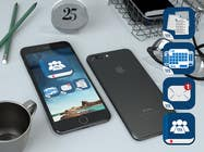 Proposition n° 2 du concours Graphic Design pour 4 separate mobile app icons designs are needed