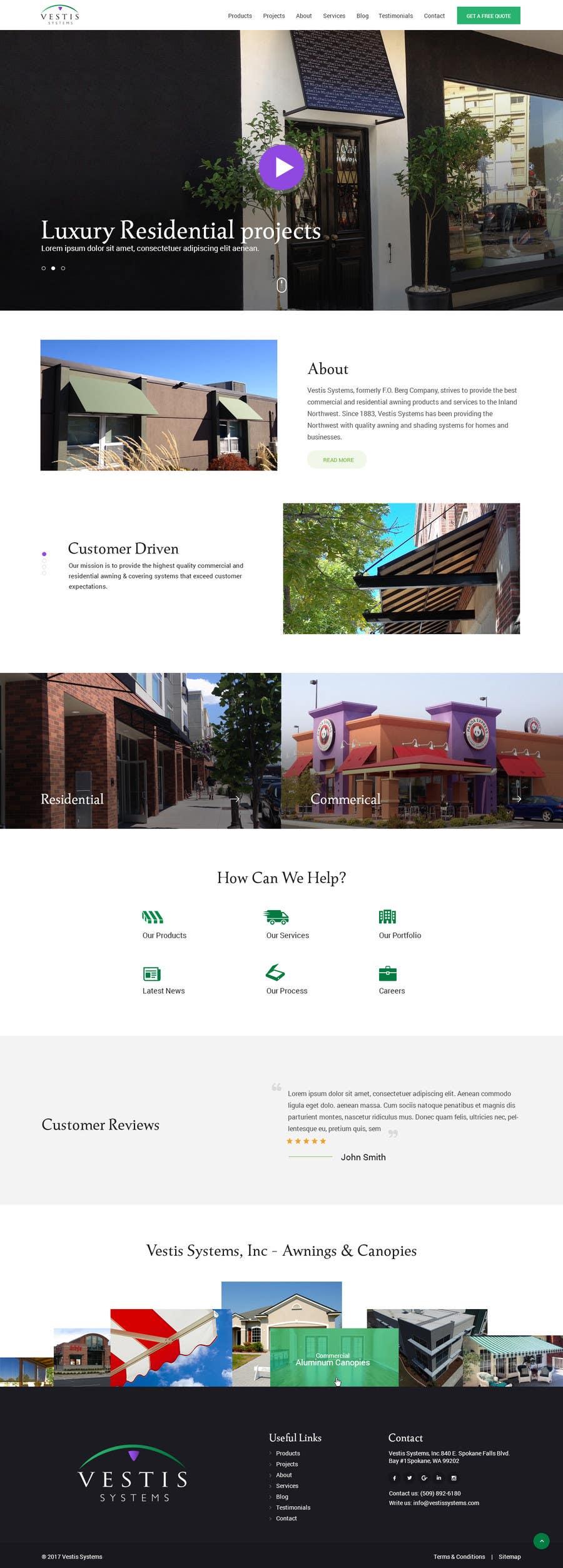 Proposition n°19 du concours Design a Website 7-10 pages