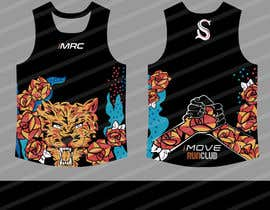 #39 for Replicate graphic art onto running singlet by gilart