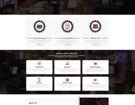 nº 18 pour Redesign Website par DigitalArcanum