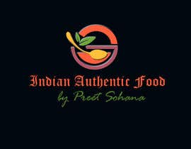 "nº 27 pour Logo for ""Indian Authentic Food By Preet Sohana"" par praveenlight"