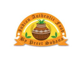 "nº 19 pour Logo for ""Indian Authentic Food By Preet Sohana"" par mteam2016"