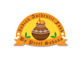 "nº 24 pour Logo for ""Indian Authentic Food By Preet Sohana"" par mteam2016"