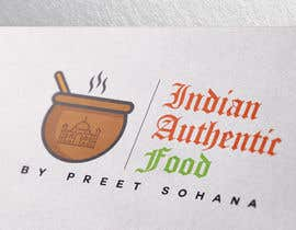 "#18 for Logo for ""Indian Authentic Food By Preet Sohana"" by Naumaan"