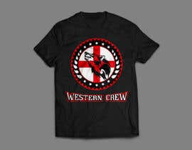 Nro 97 kilpailuun Wolf & Shield Design Logo for t-shirts, flags, mugs etc käyttäjältä sauravarts