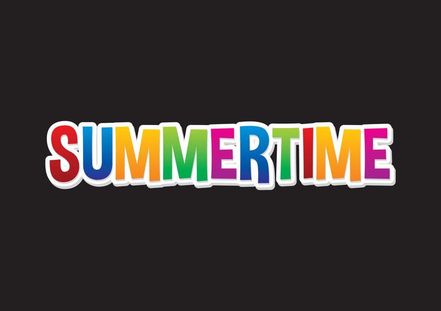 Kilpailutyö #                                        2                                      kilpailussa                                         summertime