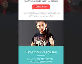 #8 for Design a email template for a online shop by RainbowVivid