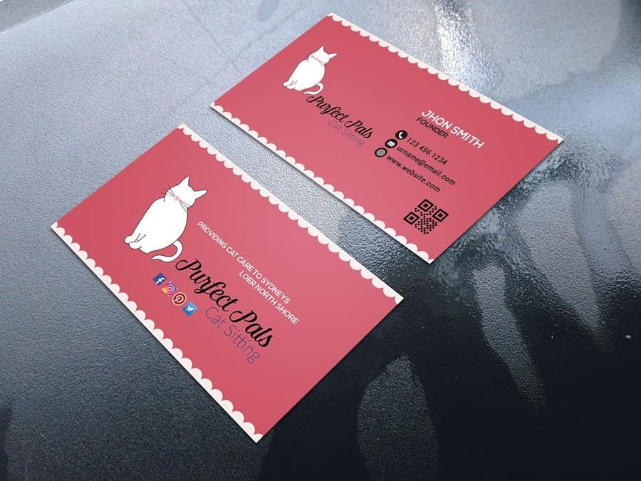 Proposition n°102 du concours Design some Business Cards