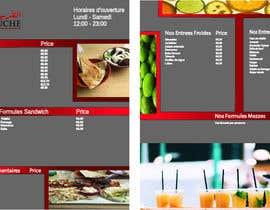 Nro 27 kilpailuun Create a Print Design for a Morrocan fast food käyttäjältä RotatingTower