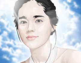 nº 45 pour Upgrade and color girl's face in Adobe Illustrator par kaliuser54