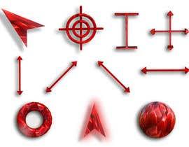 Nro 69 kilpailuun Design a cursor set käyttäjältä ccamila