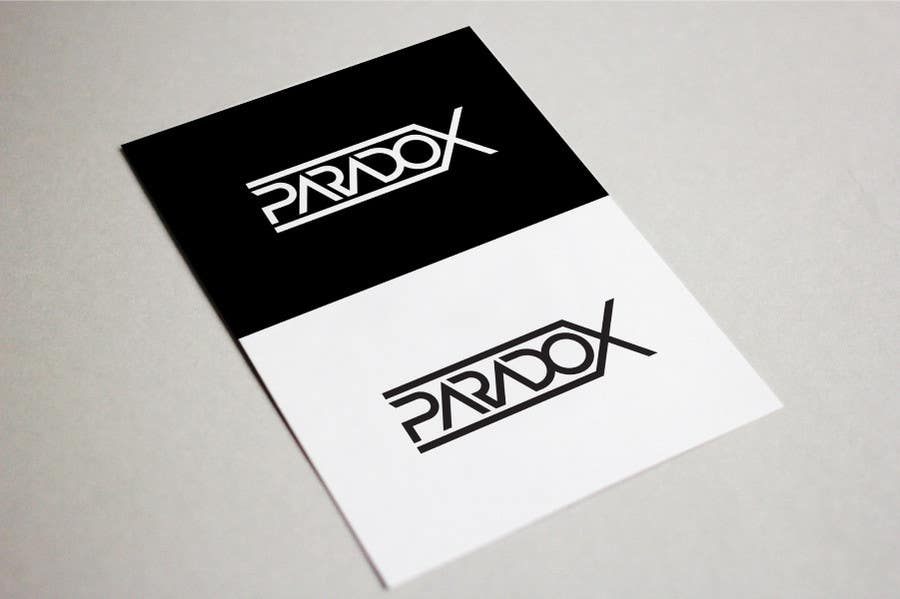 Proposition n°63 du concours I need a logo for my edm project  (paradox)