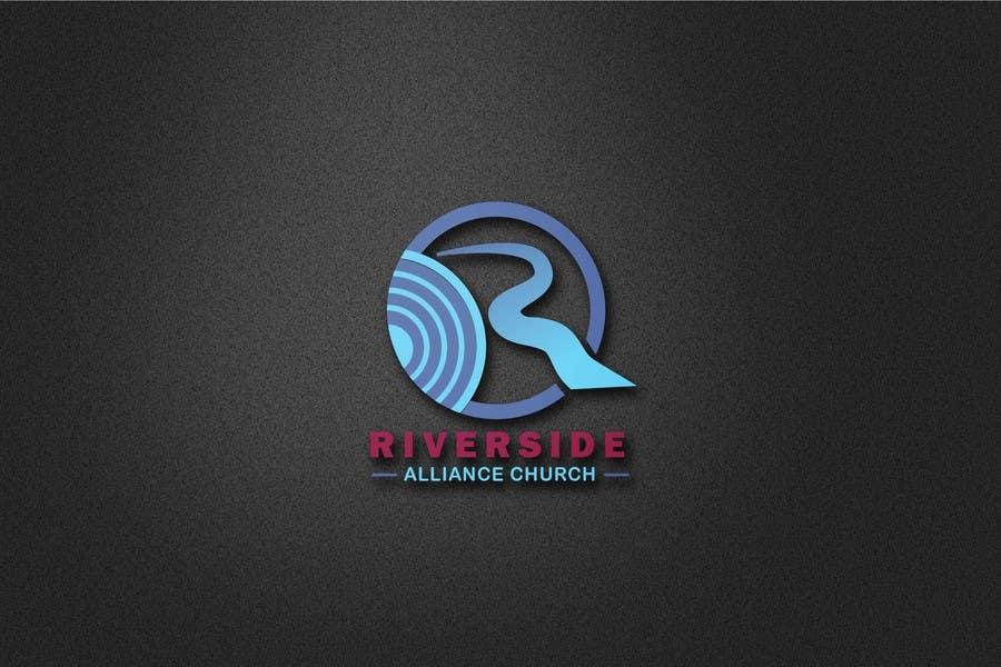 Kilpailutyö #134 kilpailussa Design a Logo River Church