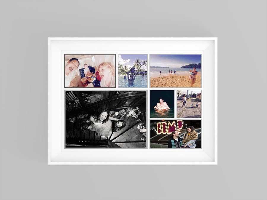 Proposition n°10 du concours Put together Photo Canvas for me for Mothers Day