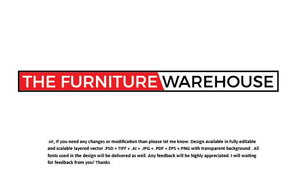 Proposition n°160 du concours Logo Design - The Furniture Warehouse