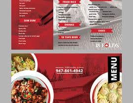 nº 6 pour Menu Design par maidang34