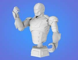 nº 5 pour Do some 3D Modelling of Iron Man LifeLike Bust par Karemradwan