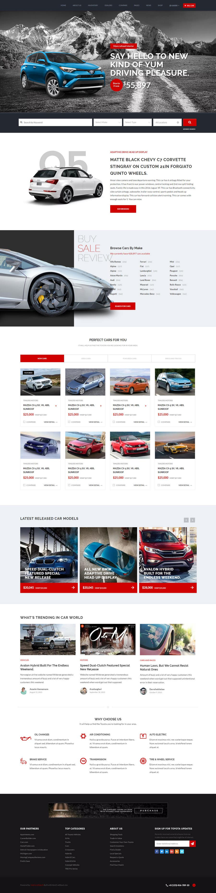 Proposition n°3 du concours design a home page