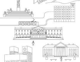 #8 for Coloring page of Oslo by vitlitstudio
