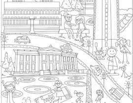 nº 30 pour Coloring page of Oslo par MDPinto