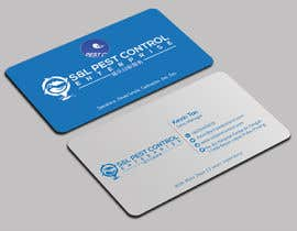 Nro 71 kilpailuun Pro Design some Business Cards for Pest Control Company käyttäjältä mmhmonju