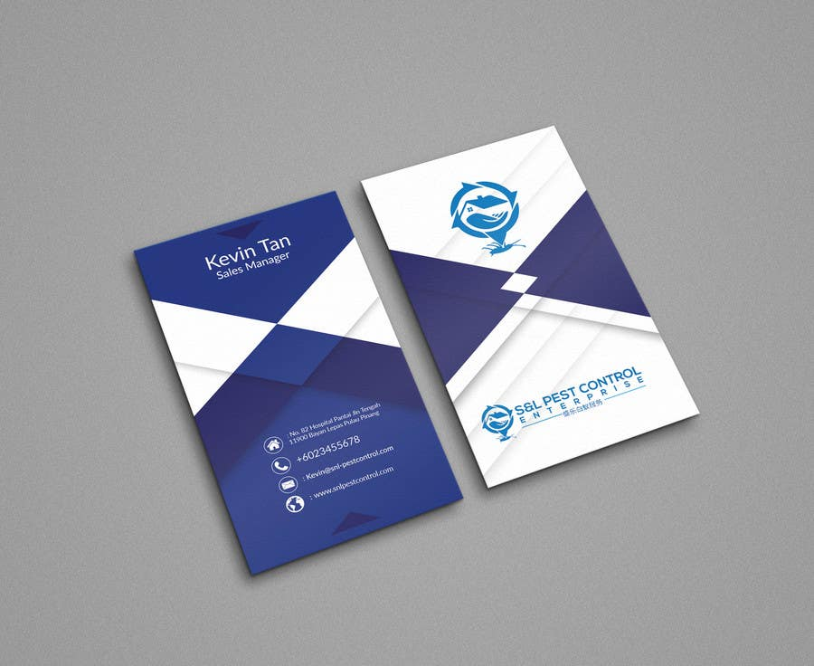 Entry #33 by ShovanGd for Pro Design some Business Cards for Pest ...