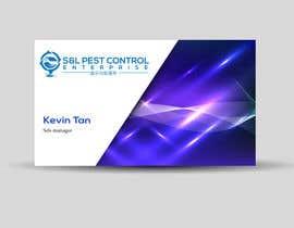 Nro 58 kilpailuun Pro Design some Business Cards for Pest Control Company käyttäjältä akashmistry294