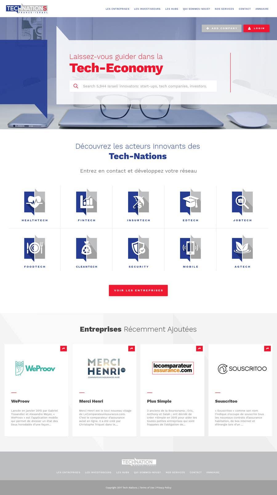 Contest Entry #34 for Design Website Mockup