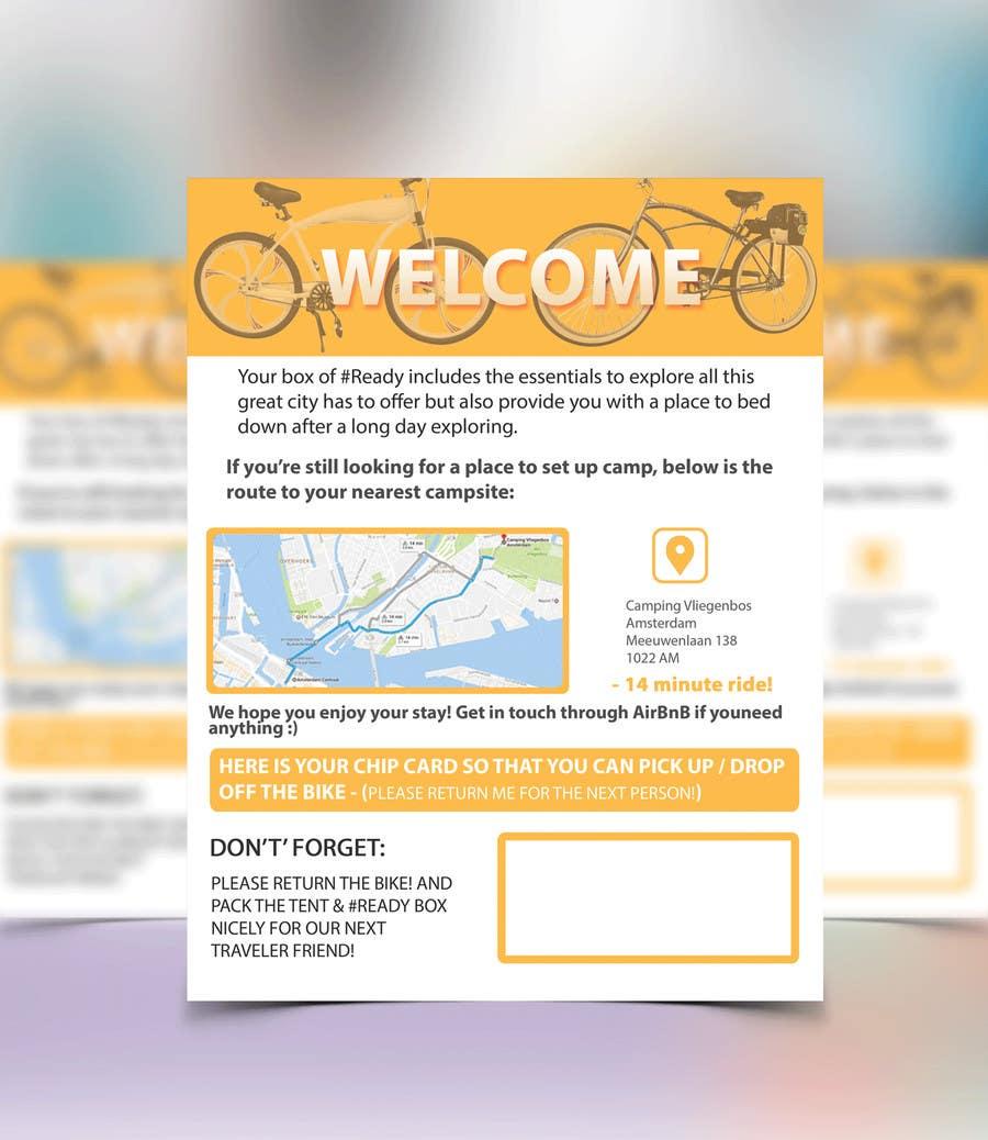 Proposition n°5 du concours Design a flyer for a new concept idea!