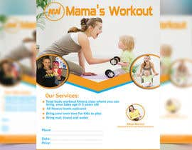 nº 17 pour Design a Flyer for fitness class par sumitjohir