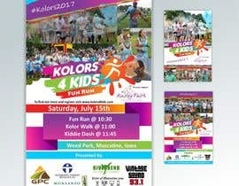 nº 13 pour Design a Color Run Poster and Handout Combo for Non-Profit par ridwantjandra