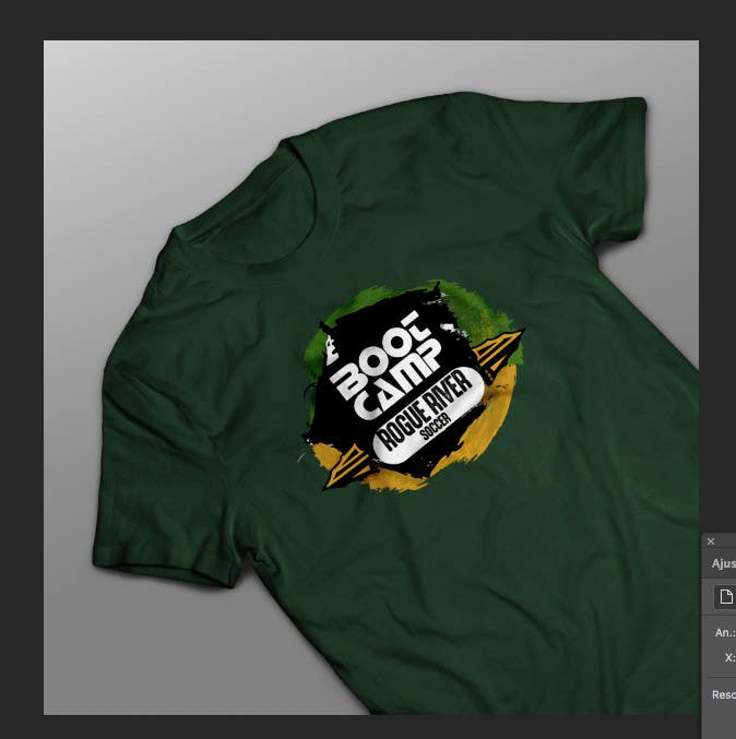 Kilpailutyö #                                        34                                      kilpailussa                                         Soccer Camp T-Shirt