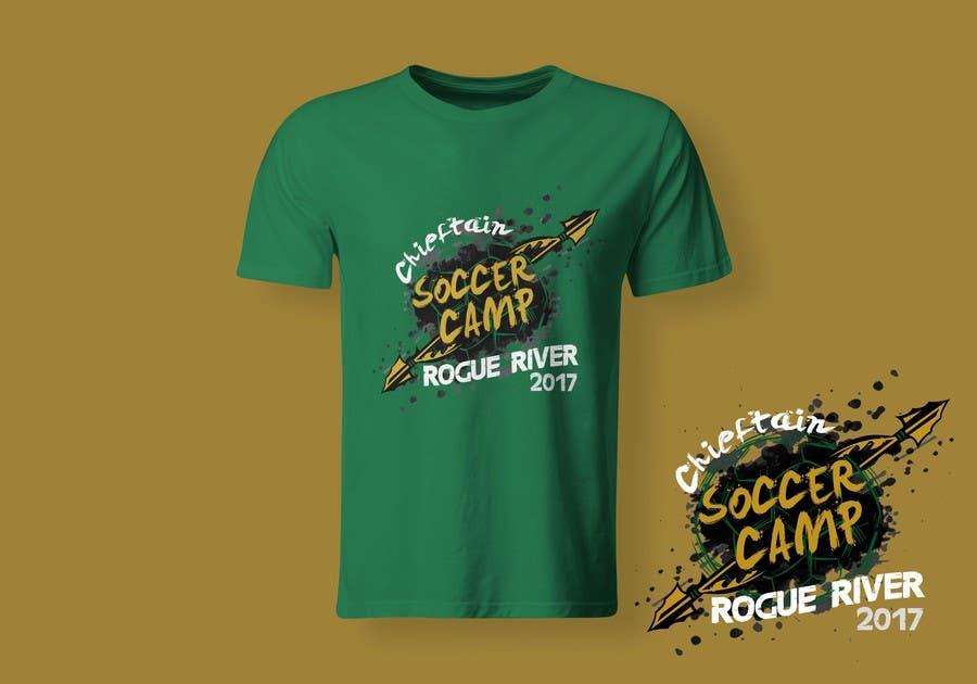 Proposition n°54 du concours Soccer Camp T-Shirt