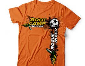 #39 for Soccer Camp T-Shirt by DAISYMURGA