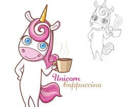 #13 for Unicorn mug logo design by IotaGirl