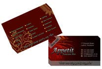 Contest Entry #71 for Business Card Design for Appétit Function Hire