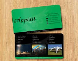 younesslife tarafından Business Card Design for Appétit Function Hire için no 73