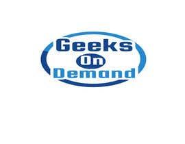 nº 103 pour Design a Logo Geeks on Demand par Alisa1366