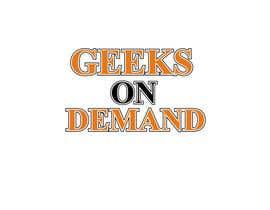 nº 104 pour Design a Logo Geeks on Demand par Alisa1366