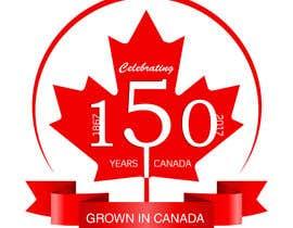 nº 24 pour CANADA 150 Sticker design par vibersol