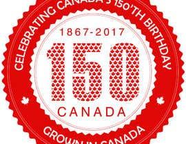 nº 25 pour CANADA 150 Sticker design par vibersol