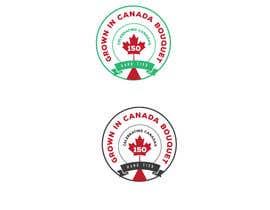 nº 10 pour CANADA 150 Sticker design par violetweb2