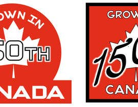 nº 18 pour CANADA 150 Sticker design par wilcarllopez