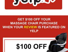 nº 71 pour FAST WORK - EASY MONEY - Design a Yelp Promotional Flyer par DeltaMachine